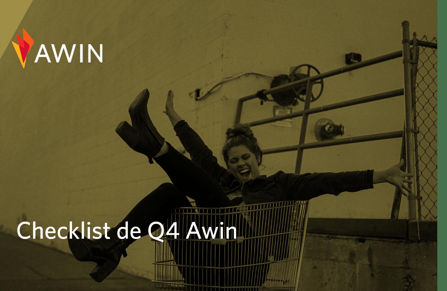 Se prepare para o Q4 com a checklist Awin