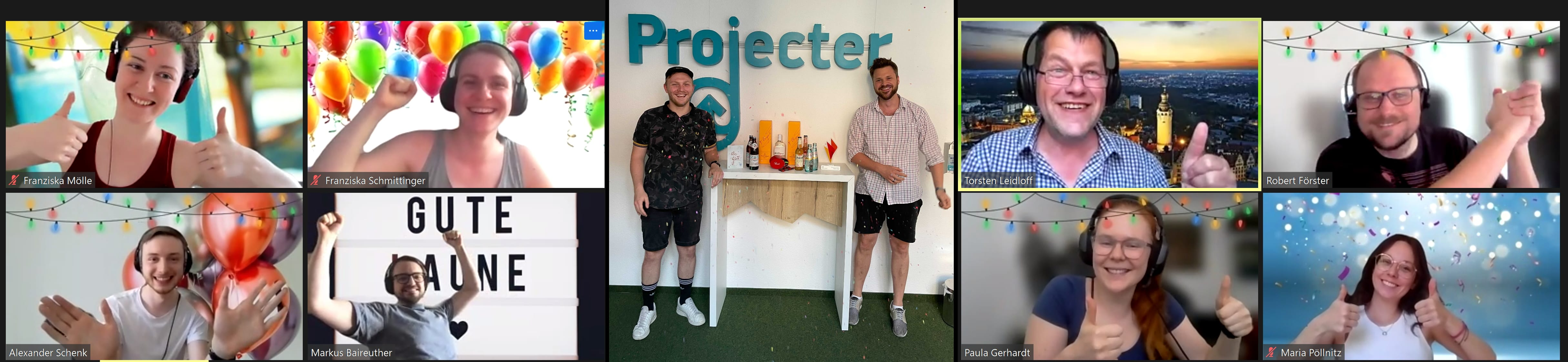 Gewinner Projecter