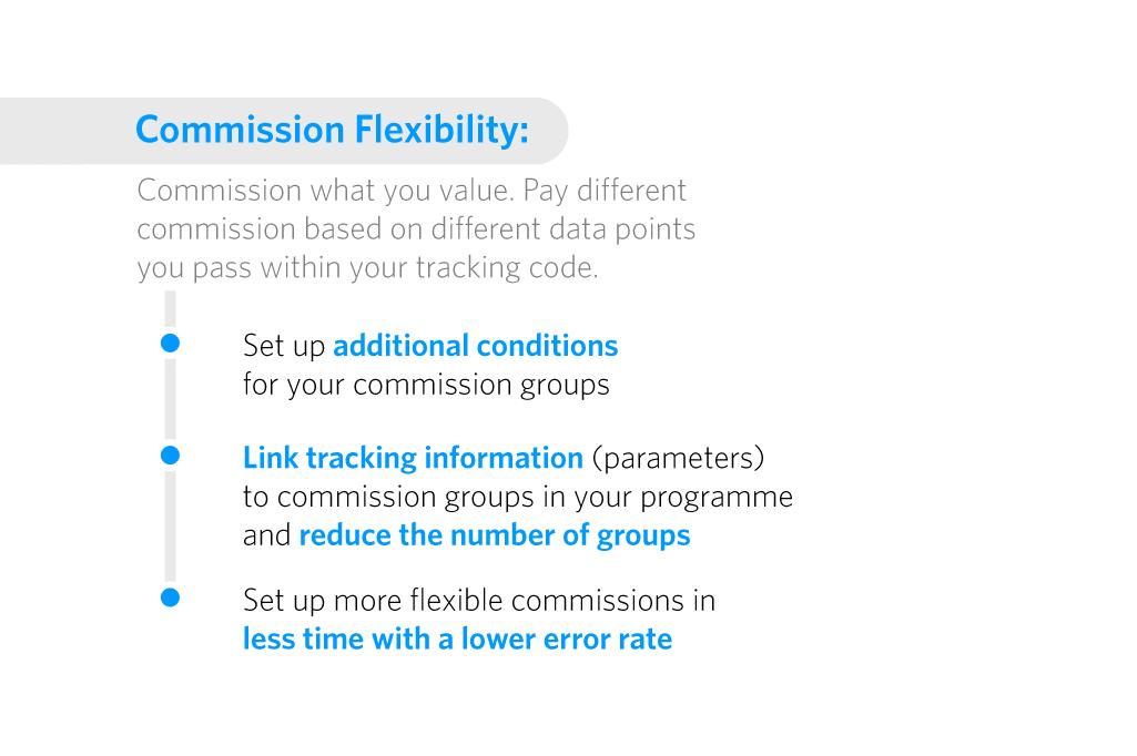 Commission flexibility