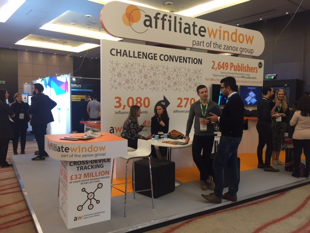 Performance marketing insights Awin stand
