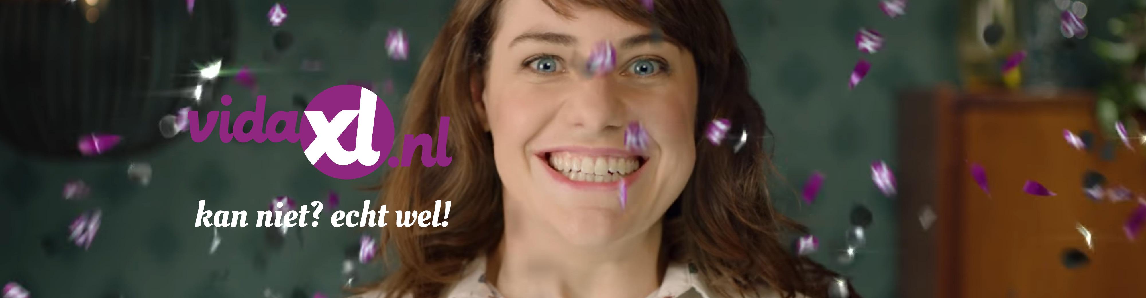 Webshopketen vidaXL nationale branding campagne