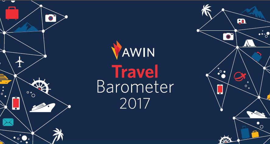Logo Awin Travelbarometer