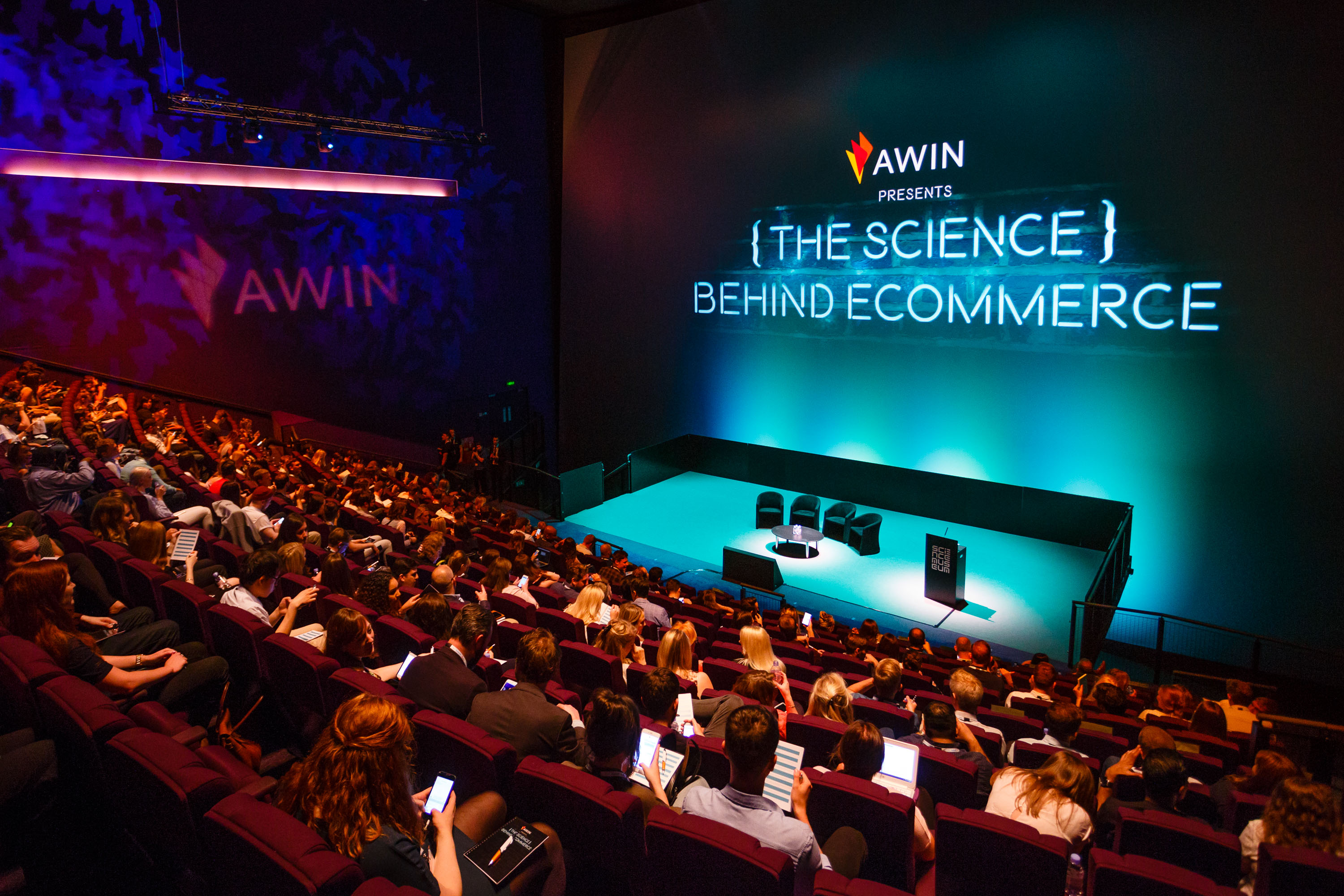 Awin conference IMAX stage