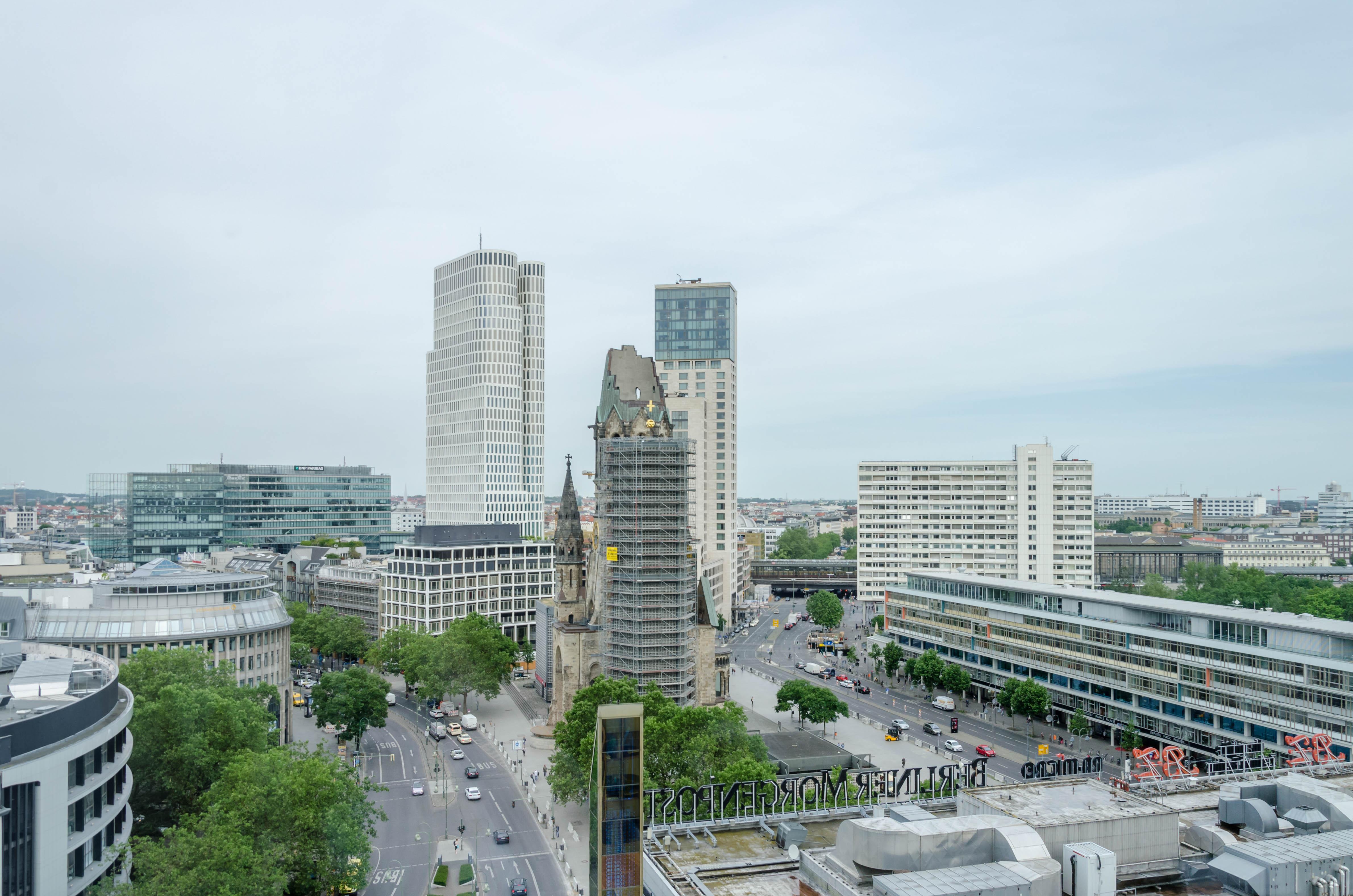 Aussicht aus dem Büro von notebooksbilliger.de