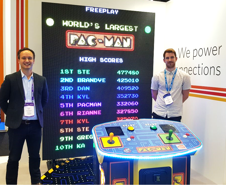 PAC-MAN winners PI:Live