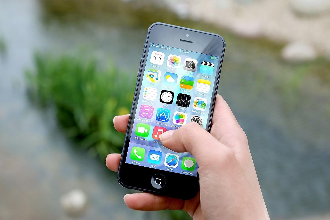 Smartphone Apple 6 nero