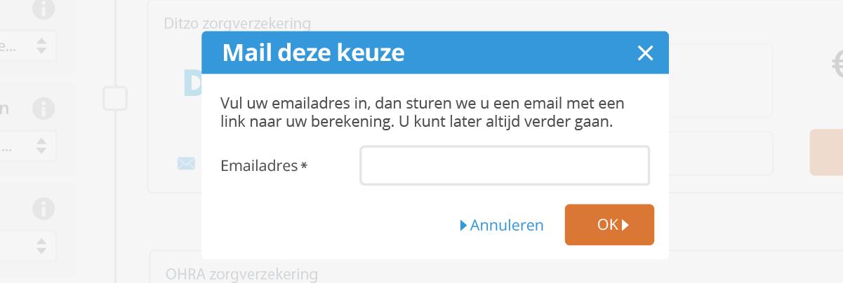 Mail functie
